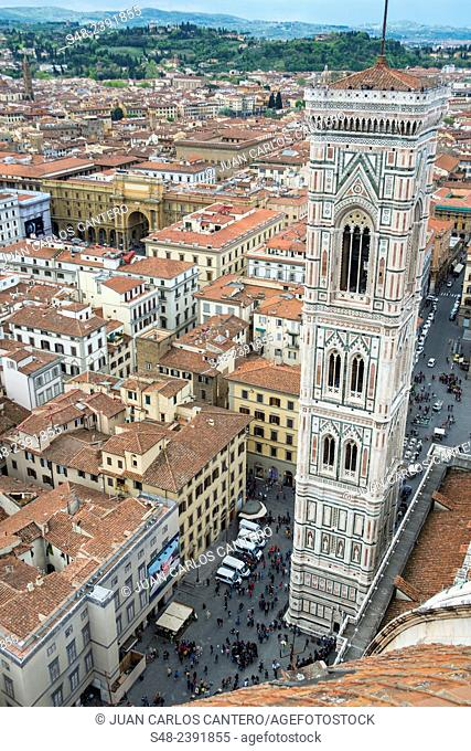 Giotto's Campanile. Florence. Italy