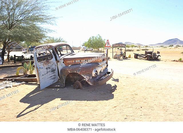 Namibia, Khomas Region, Solitaire petrol station