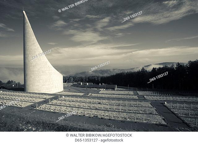 France, Bas-Rhin, Alsace Region, Natzwiller, Le Struthof former Nazi Concentration Camp, only Nazi-run camp on French territory in World War Two