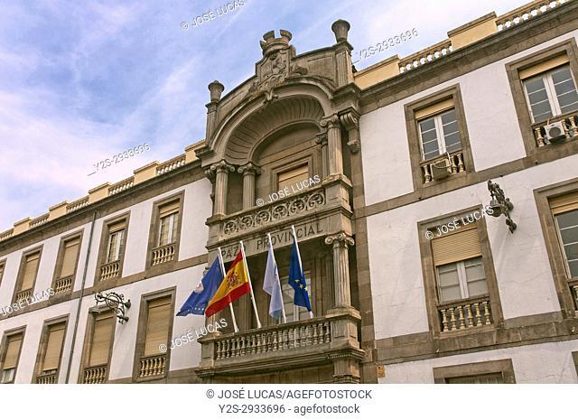 Pazo Provincial, Provincial council, Orense, Region of Galicia, Spain, Europe