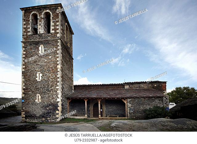 Church of Mary Magdalene. Campillo de Ranas. Guadalajara, Castilla-La Mancha. Spain. Europe