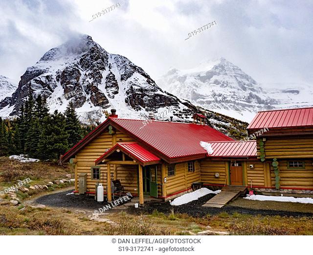 Canadian Rockies. Assiniboine Provincial Park. Lodge