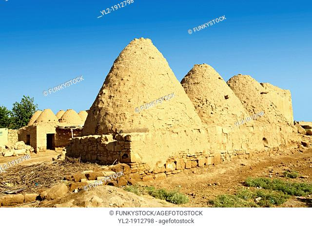 Pictures of the beehive adobe buildings of Harran, south west Anatolia, Turkey Harran was a major ancient city in Upper Mesopotamia, Turkey