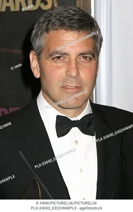 George Clooney 01/14/06 G'Day LA: Australia Week 2006 - Penfolds Icon Gala Dinner @ The Hollywood Palladium, Hollywood photo by Fuminori Kaneko/HNW / PictureLux...