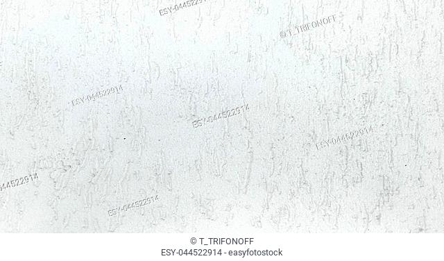 Grungy painted wall texture as background. Cracked concrete vintage wall background, old white painted wall texture. Background washed painting