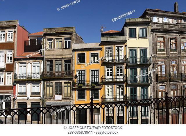Facede of Porto, Portugal