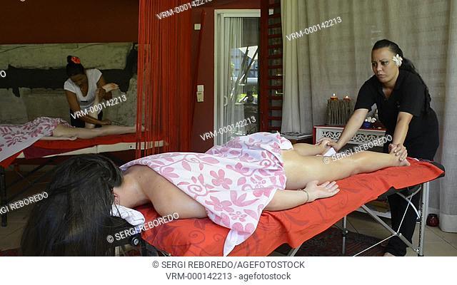 Spa, wellness, massages in Meridien Hotel on the island of Tahiti, French Polynesia, Tahiti Nui, Society Islands, French Polynesia, South Pacific