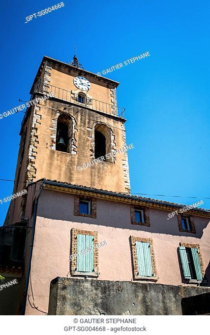 VILLAGE OF SABLET, VAUCLUSE (84), PACA, PROVENCE ALPES COTE D'AZUR, FRANCE