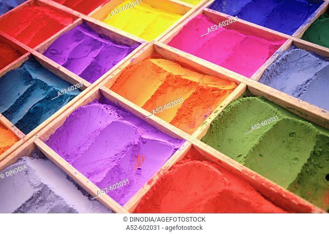 Colors. Kathmandu. Nepal