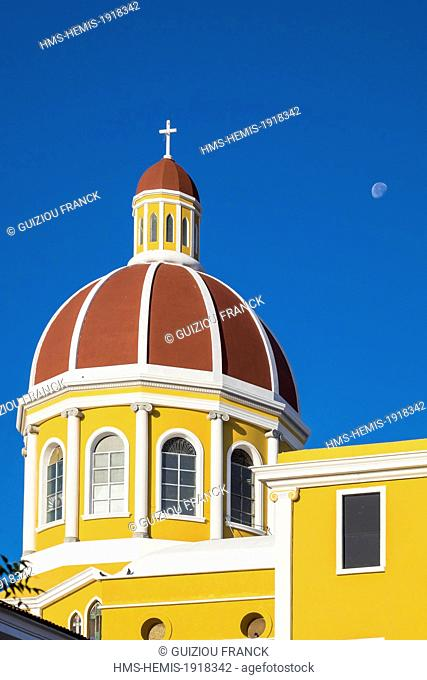 Nicaragua, Granada department, Granada, the Cathedral