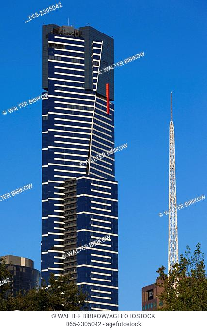 Australia, Victoria, VIC, Melbourne, Southbank, Eureka Tower, morning