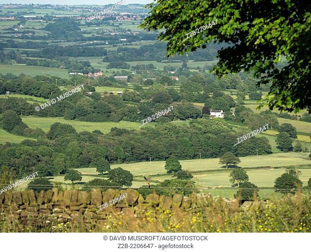 Fields, Derbyshire, UK