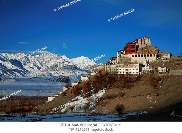 Thikse monastery, Thiksey, Ladakh, Jammu and Kashmir, India