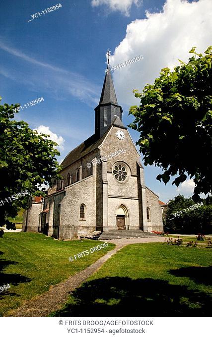 L'église Saint Laurent, Saint Lawrence Church, Montfaucon, France