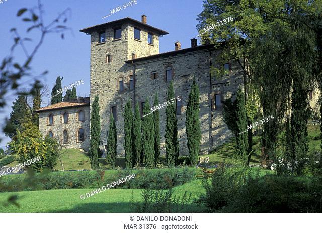 cansiglio castle, erba, italy