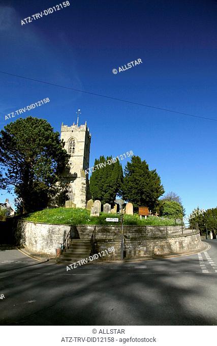 ALL SAINTS CHURCH; THORNTON LE DALE, NORTH YORKSHIRE, ENGLAND; 09/05/2010