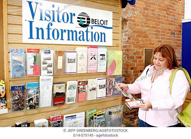 Visitors Center. Beloit. Wisconsin. USA