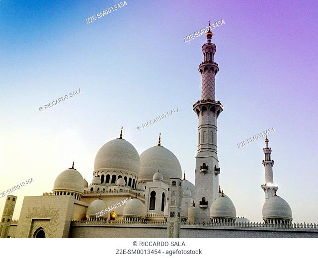 United Arab Emirates. Abu Dhabi, Sheikh Zayed Grand Mosque