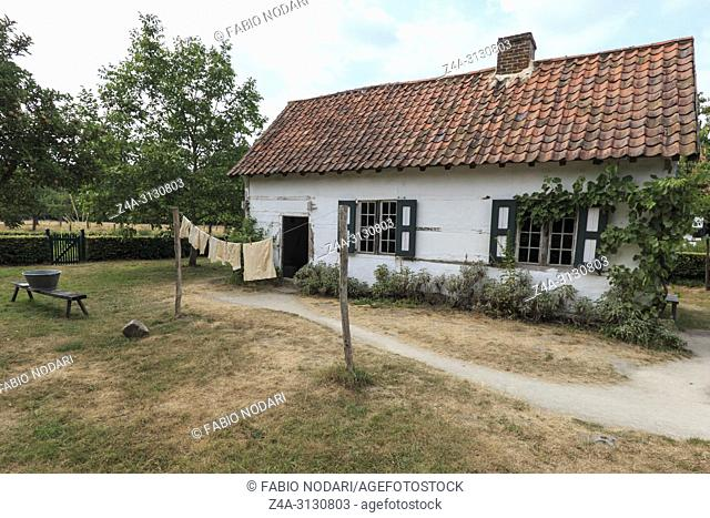 Old farmhouse in Bokrijk, Belgium