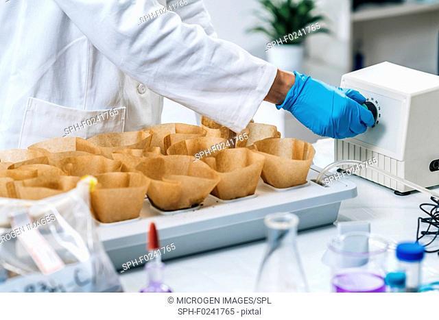 Laboratory analysis of soil
