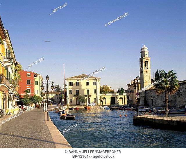 Lazise Lake Garda Lago di Garda Veneto Italy Italia