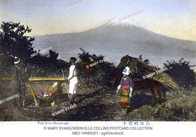 Mount Fuji, Japan - from Otometoge