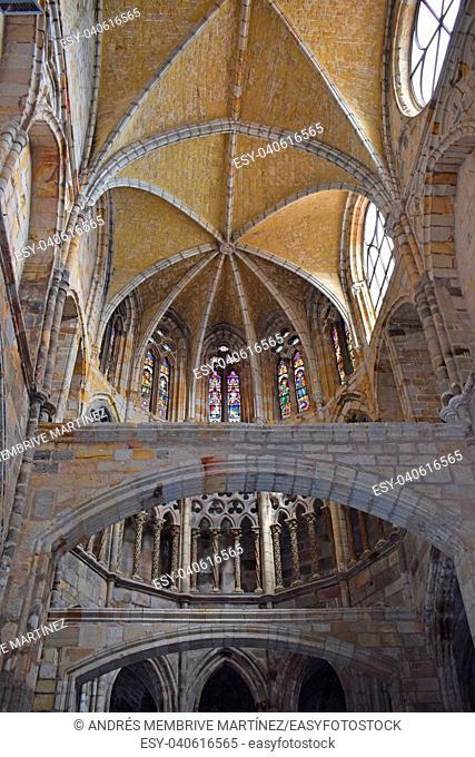 Church of Santa María de la Asunción in Castro Urdiales Cantabria Spain