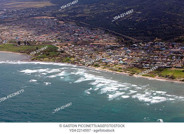 Aerial View of the Maui Island, Hawaii, USA