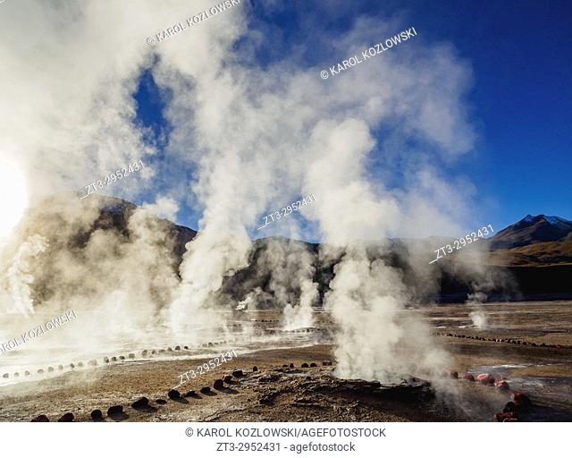 Geysers El Tatio, Antofagasta Region, Chile