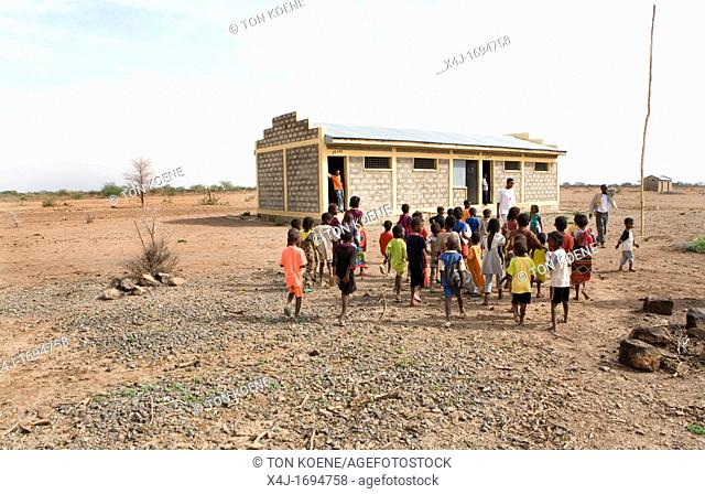 primary school in a remote Ethiopian village