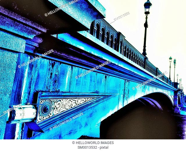 Battersea Bridge, designed by Joseph Bazalgette and opened in 1890, London, England