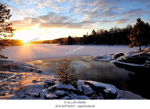 Vermilion River, Sunrise, Northern Ontario, Canada