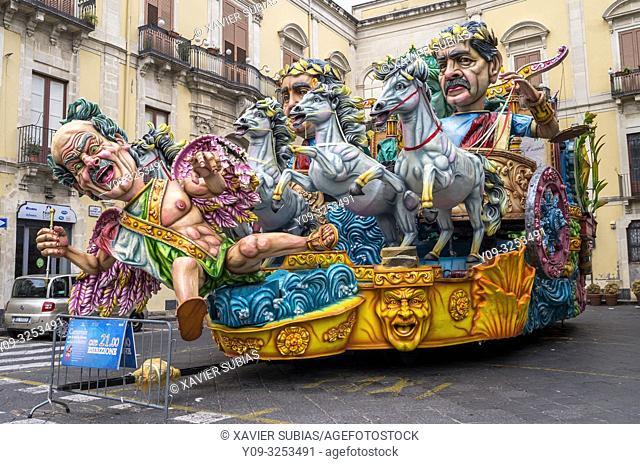 Carnival, Acireale, Catania, Sicily, Italy