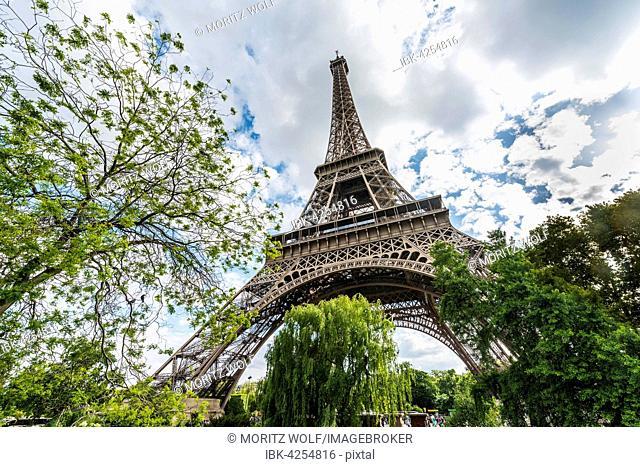 Eiffel Tower, tour Eiffel, Paris, Ile-de-France, France