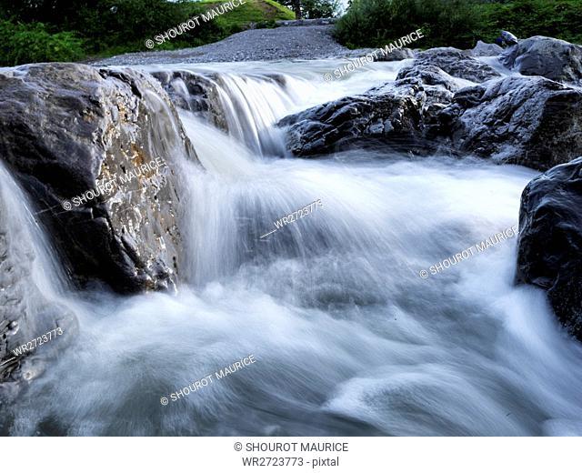 Bach, Austria, water, blurs, nature, cleanly, well, drinking water, stones, Dornbirn
