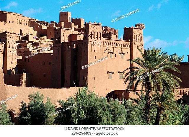 Ait Ben Haddou Kasbah. Ourzazate. Morocco