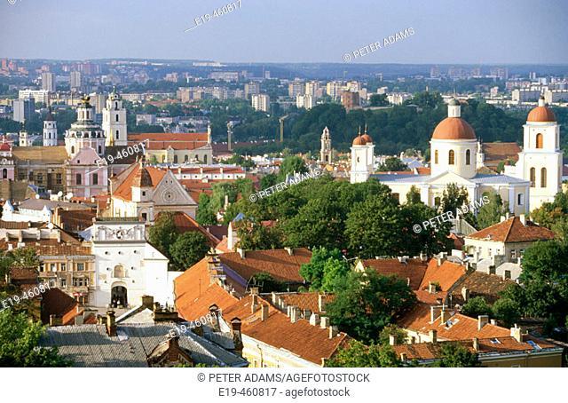 Old town, Vilnius. Lithuania
