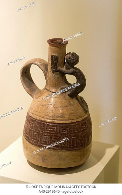 National Museum of Archeology, Anthropology and History of Peru.Lima, Peru. Inca culture (XIII century-XVI century)