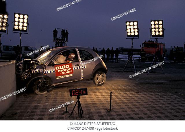 Car, Security, Crash tests, Ford Ka, Airbag
