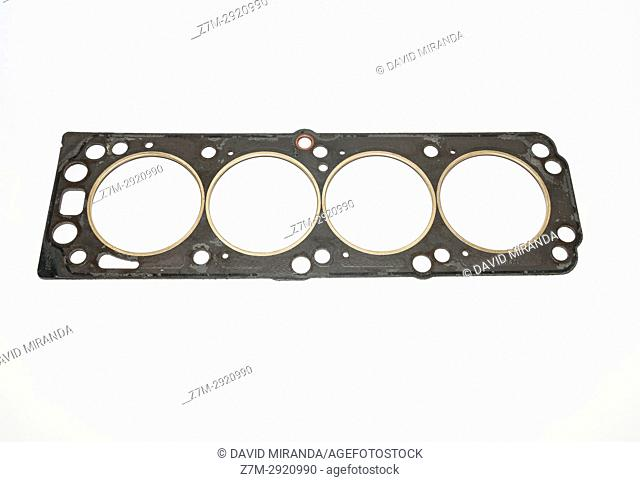 Head gasket, part of automotive engine