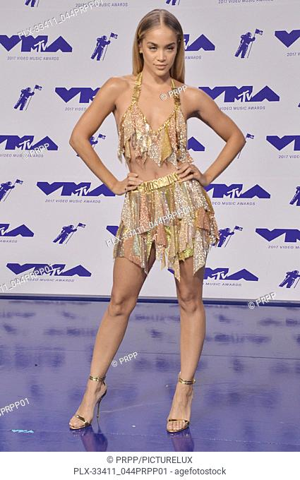 Jasmine Sanders at the 2017 MTV Video Music Awards held at The Forum in Inglewood, CA on Sunday, August 27, 2017. Photo by PRPP / PictureLux