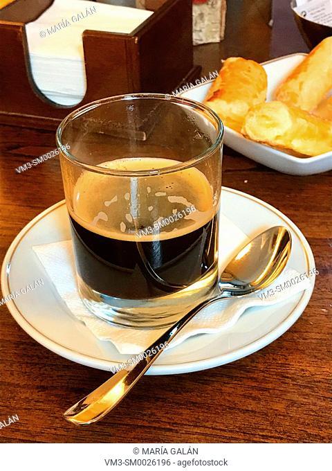 Glass of coffee