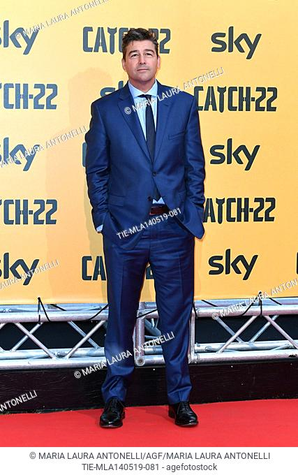 Kyle Chandler during the Red carpet for the Premiere of film tv Catch-22, Rome, ITALY-13-05-2019