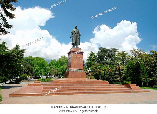 Lenin monument, Yalta, Crimea, Ukraine, Eastern Europe