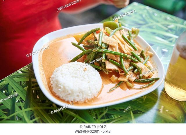 Vegetarian Asian dish