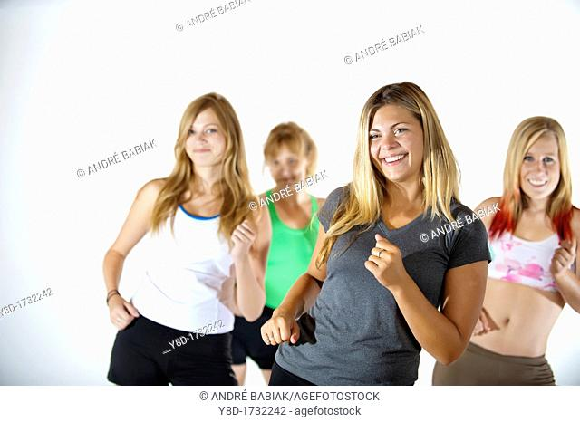 Fitness Class, Female 22, Female 23, Female 15, Female 44