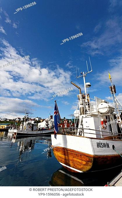 The harbour, Husavik, Iceland