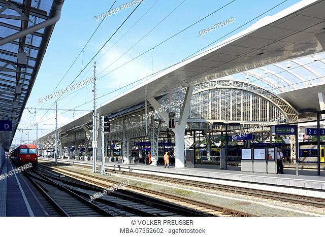Salzburg, Salzburg Hauptbahnhof (Main Station), Flachgau, Salzburg, Austria