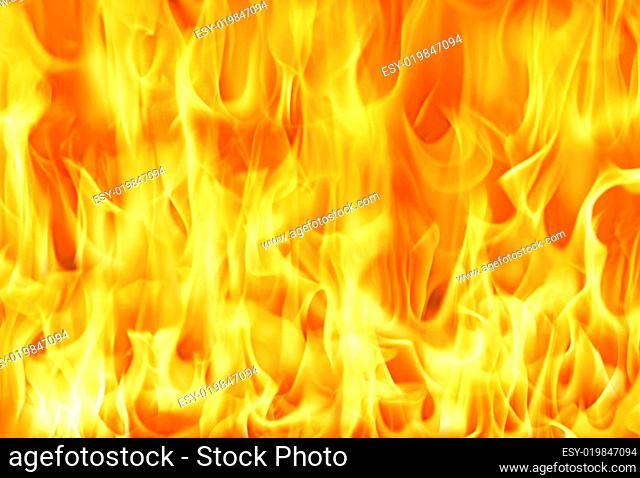 Big fire background