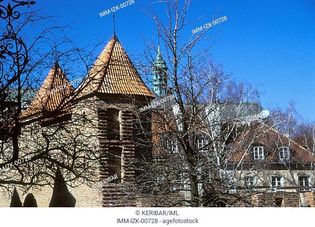 Stare Miasto, Old City, Old Walls, Warsaw, Poland, Europe